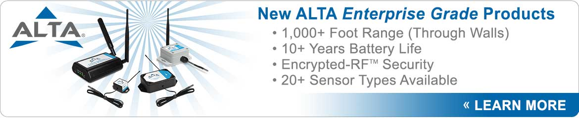 New ALTA Products by Monnit