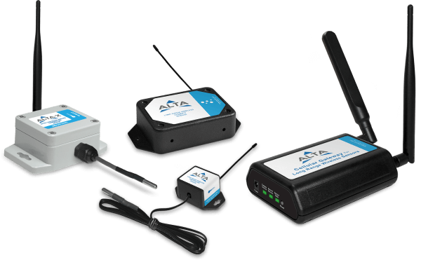 Three ALTA Sensors and an ALTA gateway