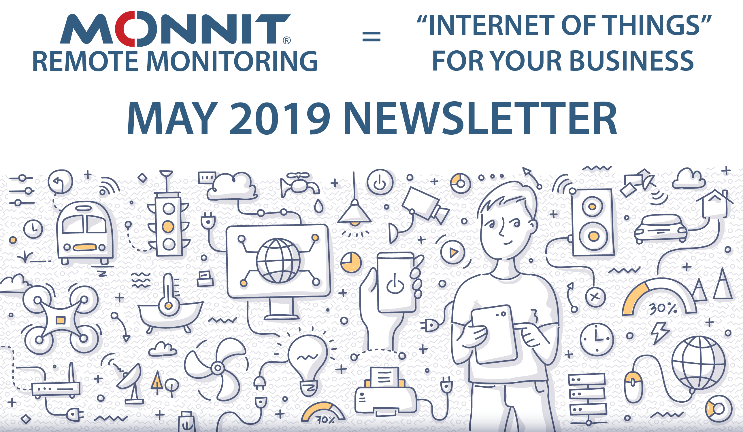 Monnit Monthly Newsletter - May 2019