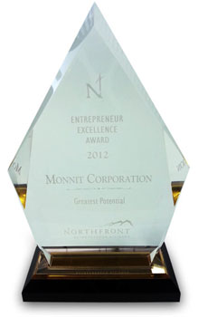 Northfront Entrepreneur Excellence Award 2012