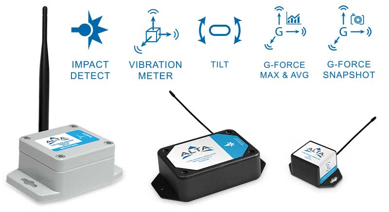 Monnit ALTA Wireless Acceleremoters