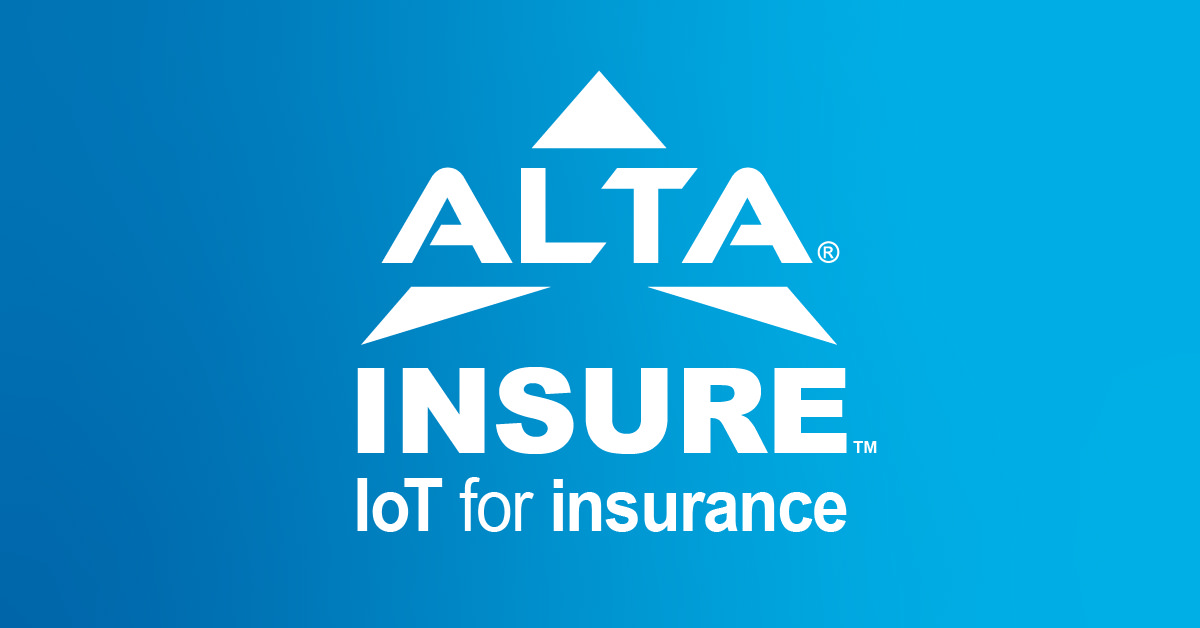ALTA Insure - IOT for Insurance