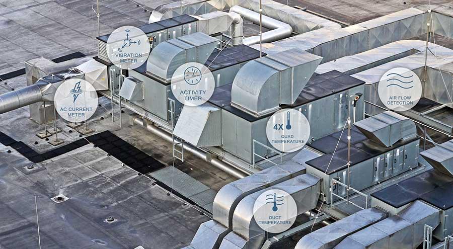 HVAC with Sensor Icons