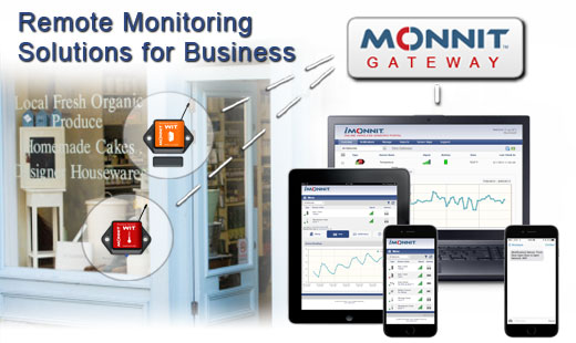 Monnit Remote Monitoring Solutions for Businesses