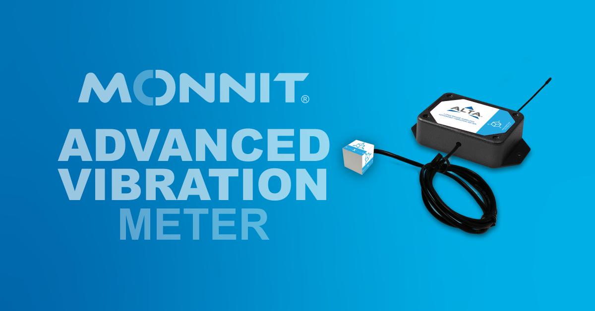 Monnit ALTA Advanced Vibration Meter
