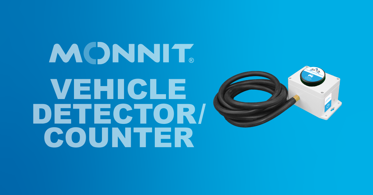 Monnit ALTA Vehicle Detector/Counter