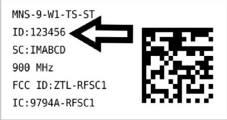 Sensor Label