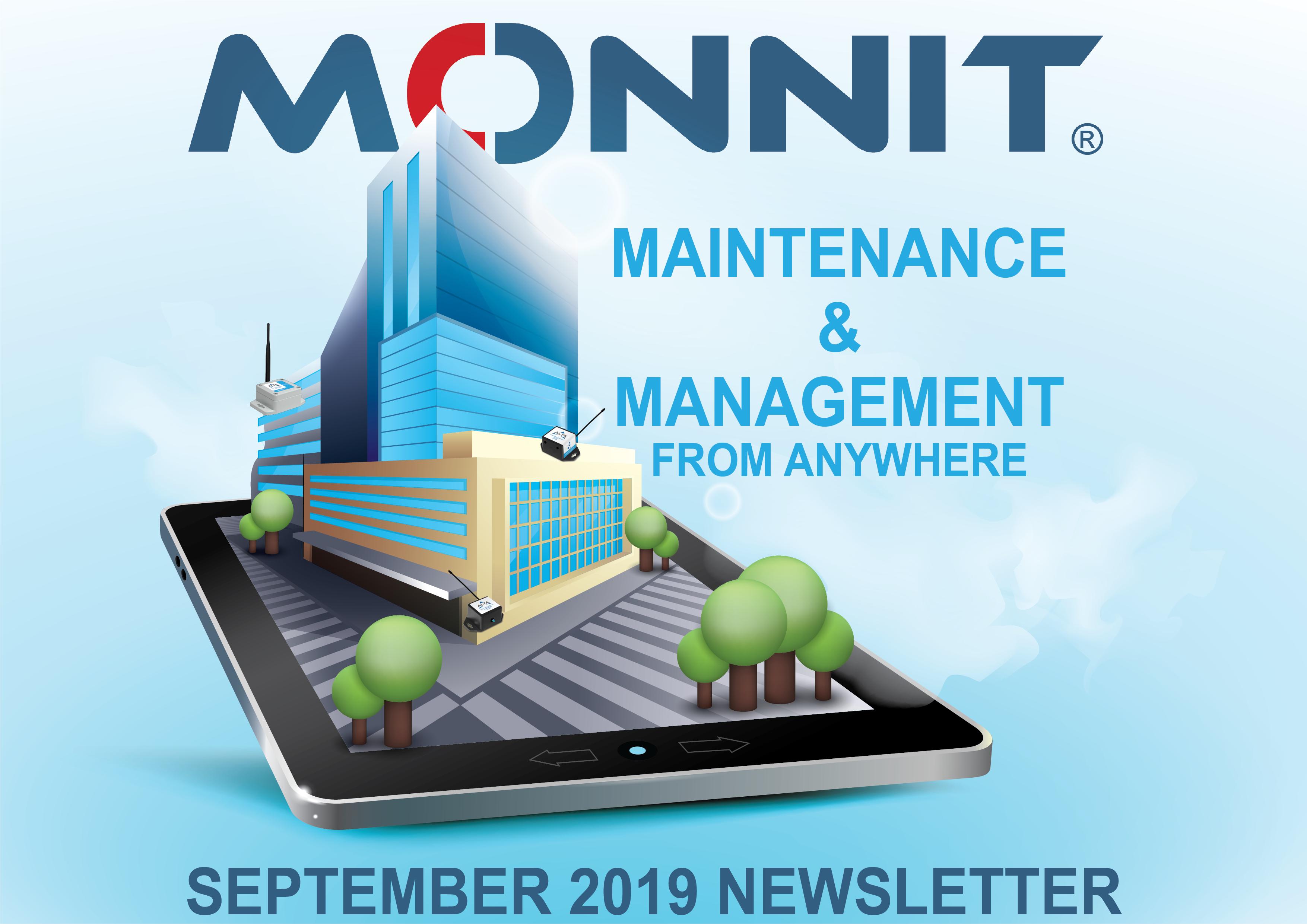 Monnit Monthly Newsletter - September 2019