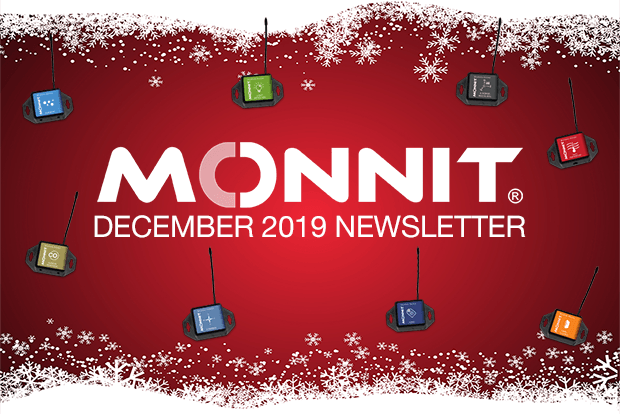 Monnit Monthly Newsletter - December 2019