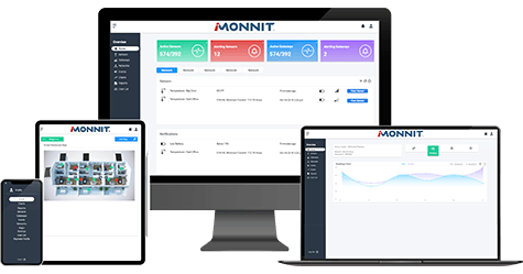 Multiple devices running the new iMonnit interface