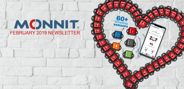 Monnit Monthly Newsletter - February 2019