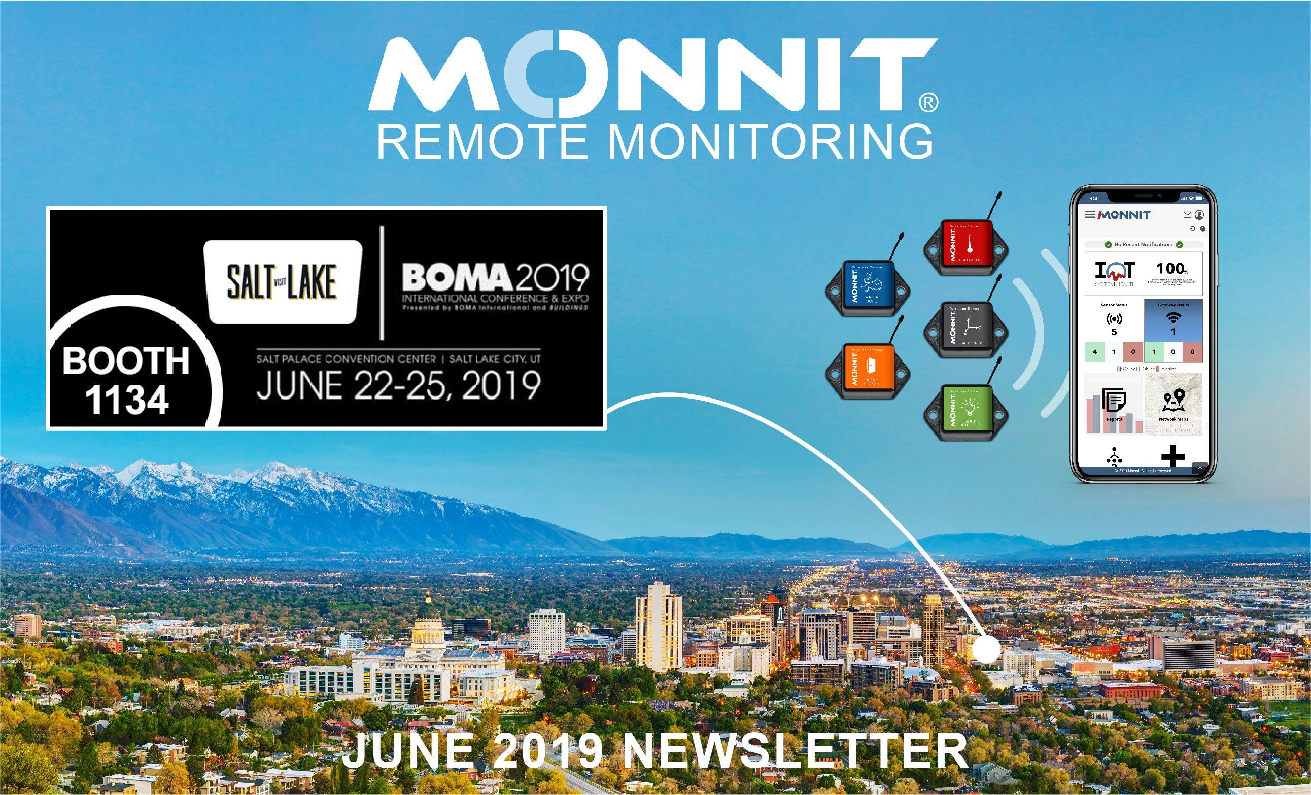 Monnit Monthly Newsletter - June 2019