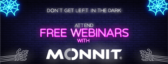 Attend a webinar to learn how Monnit products and services can help you