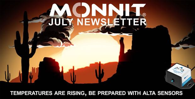 Monnit Monthly Newsletter - July 2019