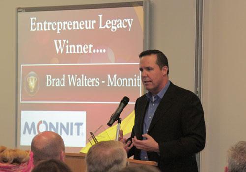 Brad Walters Entrepreneur Legacy Award