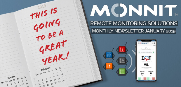 Monnit Monthly Newsletter - November 2018