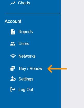 Buy/Renew Navigation Button