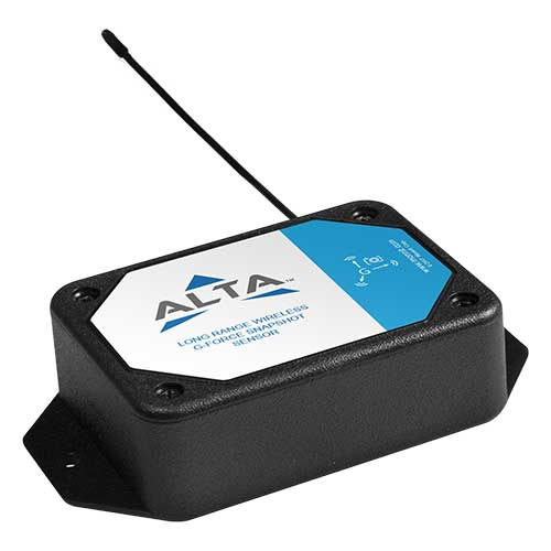 ALTA Wireless Accelerometer - G-Force Max-Avg - Commercial AA Battery Powered