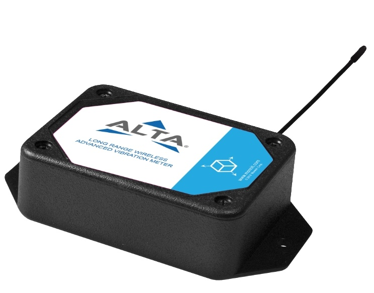 ALTA Wireless Accelerometer - Advanced Vibration Meter - Commercial AA