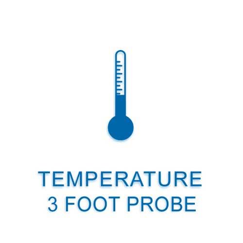 temperature sensor with probe