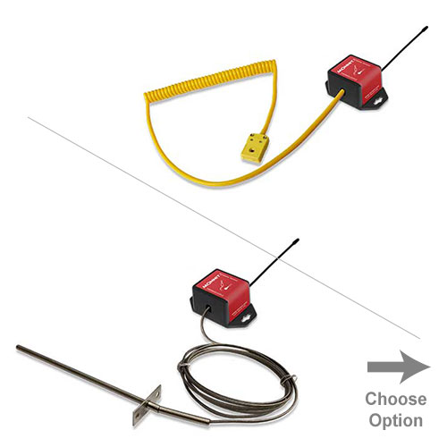 Monnit Wireless Thermocouple Sensor - Commercial Coin Cell Powered