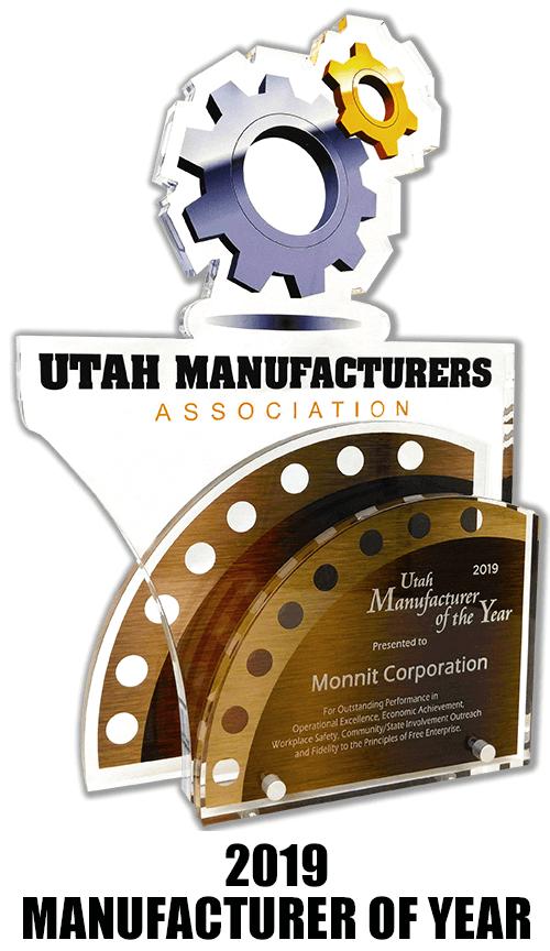 utah manufacturers association award - 2019 manufacturer of the year