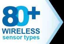 80 plus wireless sensor types