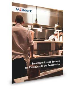 smart monitoring systems for foodservice and restaurants