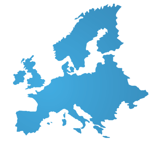 Europe partners map