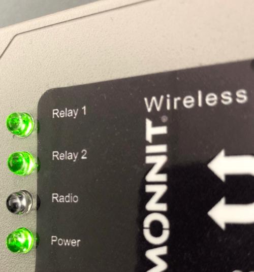Control LED's
