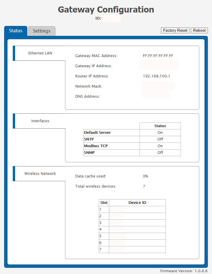 EGW4 - Miscellaneous Configurations