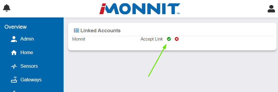 Accept the Link