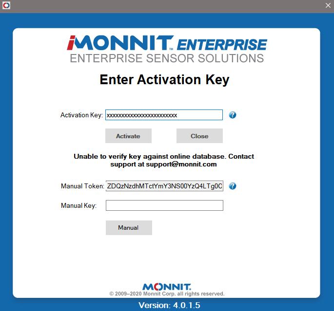 Offline Activation Request