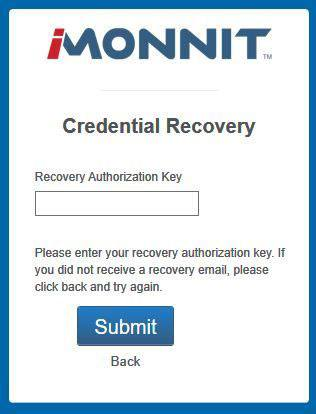 Forgot? - Credential Recovery