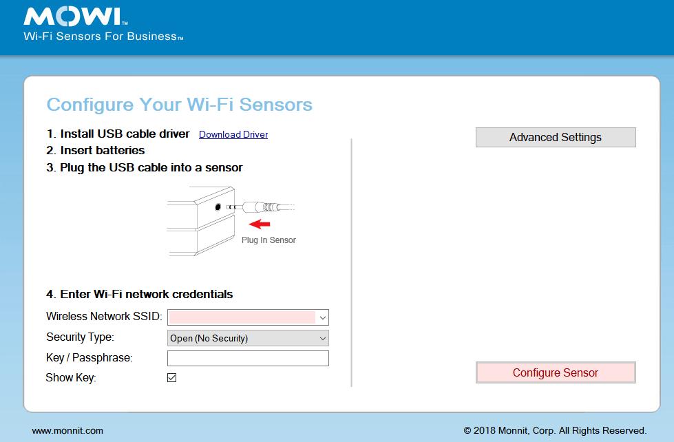 Plug In Sensor