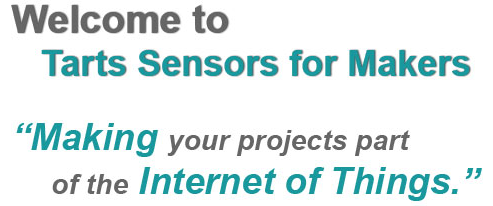 Welcome to Tarts Sensors for Makers